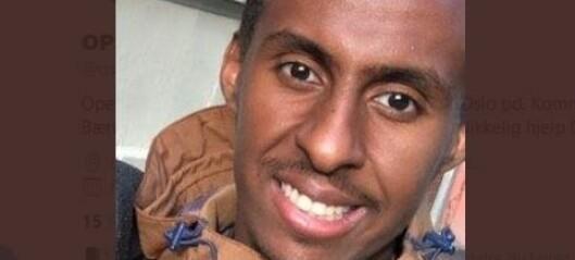 Politi og letemannskaper søker etter savnet 22-åring. Forsvant fra området ved Skullerud