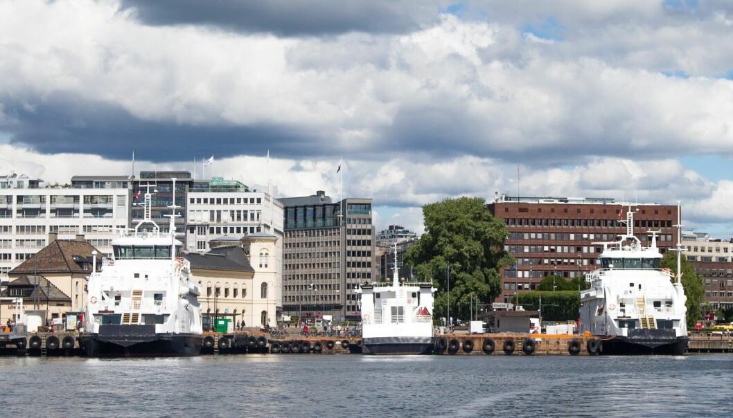 22-åringen er i god behold etter å ha blitt funnet ombord på en av Nesoddbåtene.