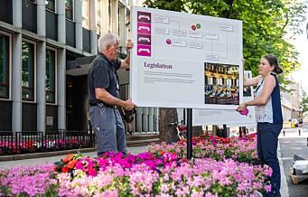 Lanserer utstilling om Stortinget og demokratiet i Akersgata