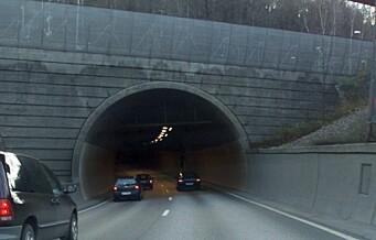 To personer alvorlig skadd i ulykke i Ekebergtunnelen