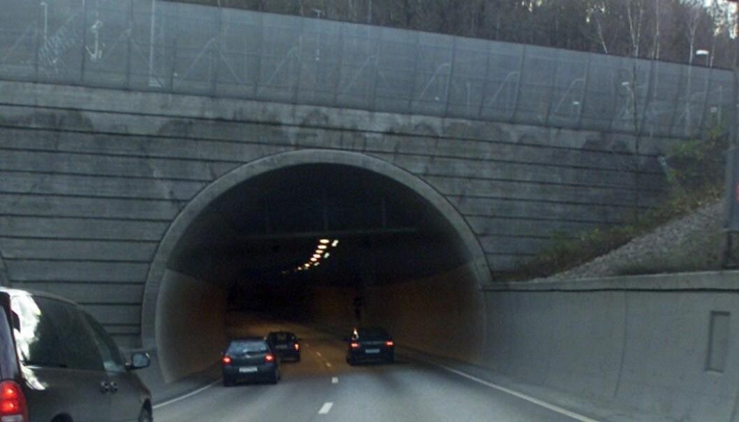 Østgående løp ut av Oslo sentrum ble stengt etter ulykken