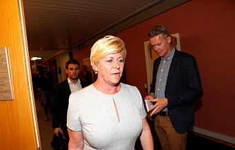 Fylkesleder i Oslo Frp åpner for å vrake Siv Jensen fra toppen av stortingslista ved valget neste høst