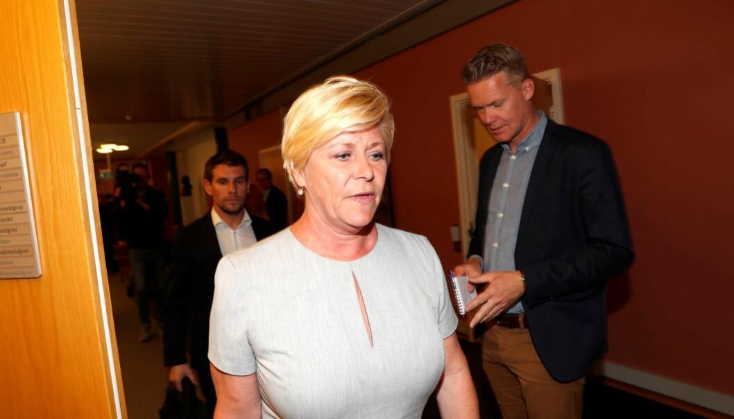 I norske partier er det nærmest en selvfølge at partilederen topper stortingslista i sitt fylke. Nå åpner Oslo Frps leder for å vrake Siv Jensen fra førsteplass neste høst.