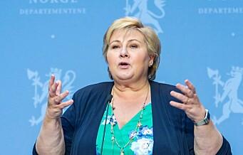 Statsministeren reagerer etter festhelg i Oslo: - Viruset er like smittsomt og sykdomsskapende som før