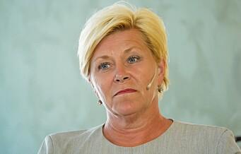 Siv Jensen forventer topplass på Oslo Frps stortingsliste: - Liten gruppering som velger å overse vedtak og strategier