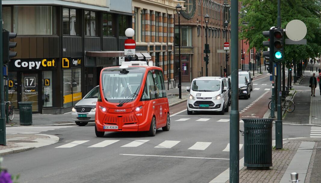 – Selvkjørende kollektivtransport kan skape et enda bedre transporttilbud for innbyggerne i fremtiden, mener etatsdirektør i bymiljøetaten, Gerd Robsahm Kjørven.