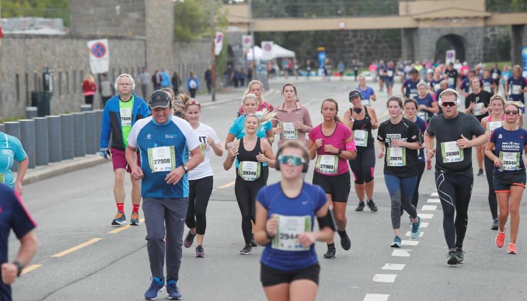Løpere i ulik alder, kategorier og klasser går glipp av Oslo Maraton på grunn av korona. I fjor var 23.000 påmeldt til løpefesten.