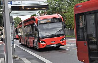 3757 bussjåfører i Oslo kan gå ut i streik søndag