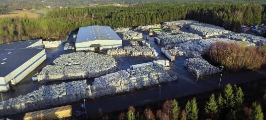 Plastkrisen i Oslo er over. Fremover skal plasten i blåposene skipes til Småland i Sverige