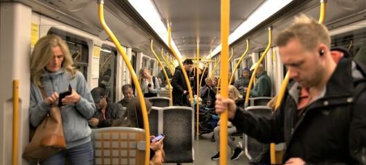 Byrådet krever endringer i smittevernregler på trikk, buss og T-bane for å unngå kollektivkollaps