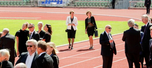 Friidrettsleder Svein Arne Hansen bisatt – minnet av familie og idrettsvenner på Bislett