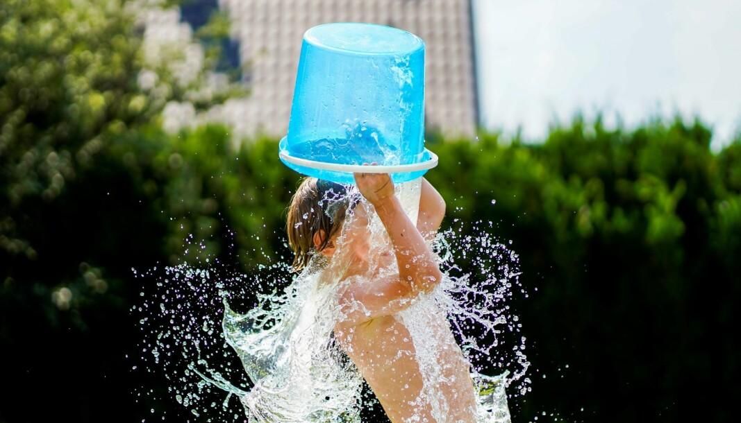 En iskald bøtte vann over hodet under den varmeste juni noensinne målt i Oslo.