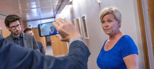Fylkesstyret i Oslo Frp enig om at partileder Siv Jensen bør toppe stortingslista