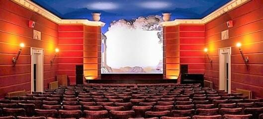 Frogner kino holder åpent hele sommeren. Lokker publikum med vin og tapas