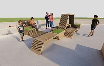 Vaterlandsparken utsmykkes med spesiell trekonstruksjon i sommer