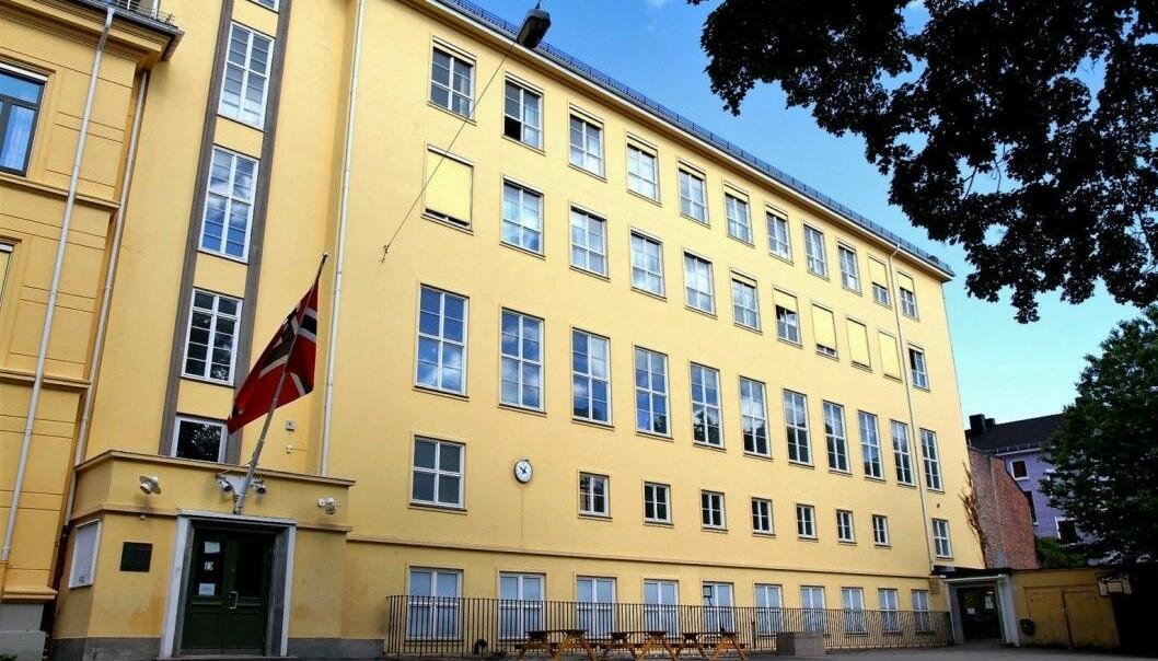 Ranet skal ha skjedd utenfor Møllergata skole.