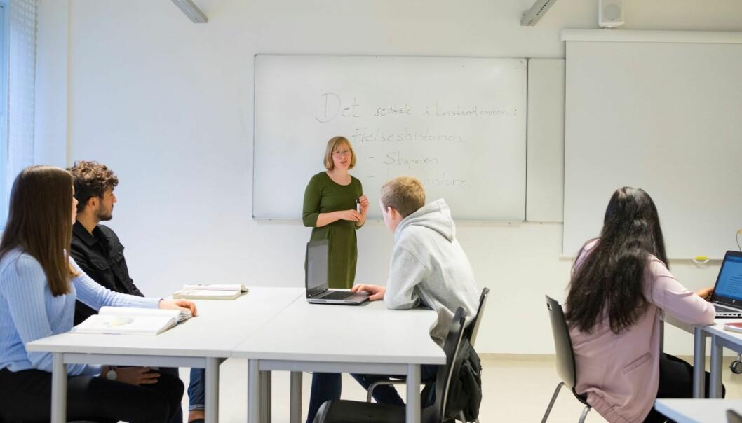 17.799 ungdommer i Oslo har lovfestet rett til plass i videregående skole.