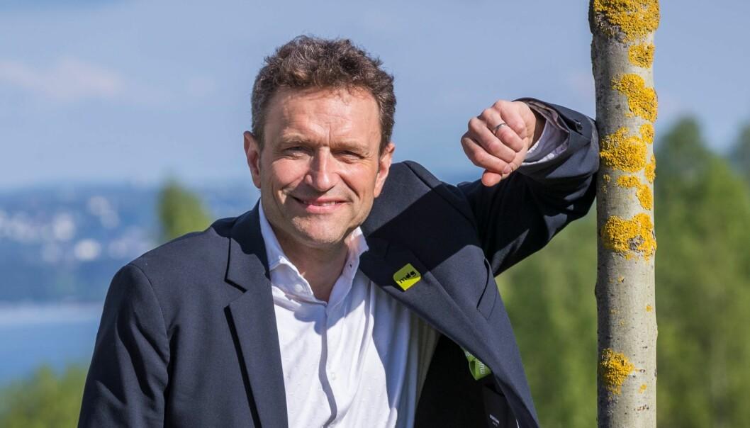 Byråd for byutvikling Arild Hermstad (MDG) og byrådet sier ja til Bane Nors planer om utbygging i Brynsbakken.