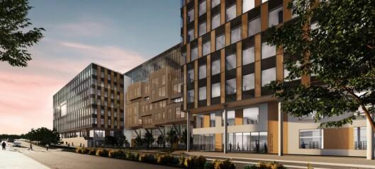 Ett steg nærmere Construction city på Ulven. Skal huse 5.000 arbeidsplasser