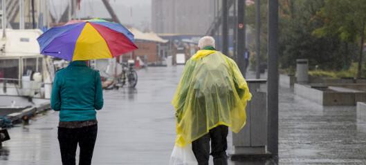 Rekordvarmt i juni, mens det har vært uvanlig mye regn i Oslo i juli