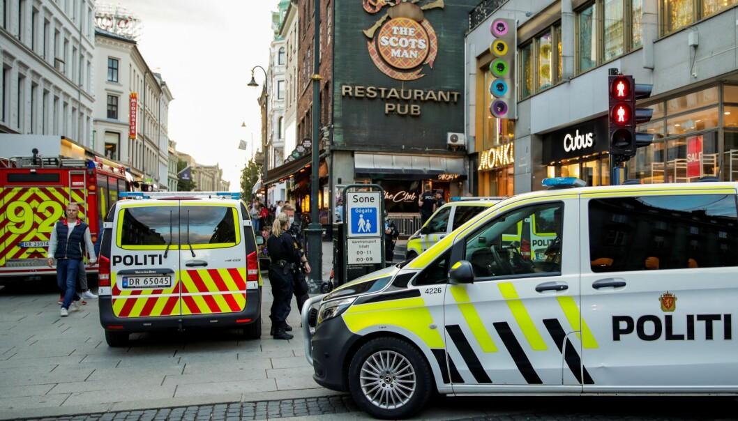 — Vi jobber på stedet for å få oversikt over hendelsesforløp, opplyser politiet.