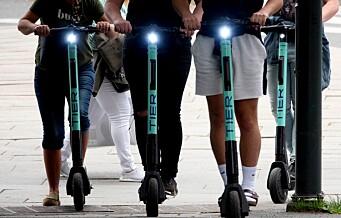 Ulykker med elsparkesykkel i Oslo doblet siden ifjor: Halvparten skader seg nattestid i fylla
