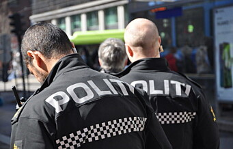 Politiet stanset fest i Middelalderparken med 100 personer