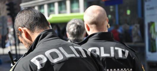 Mann truet med kniv – politiet brukte pepperspray