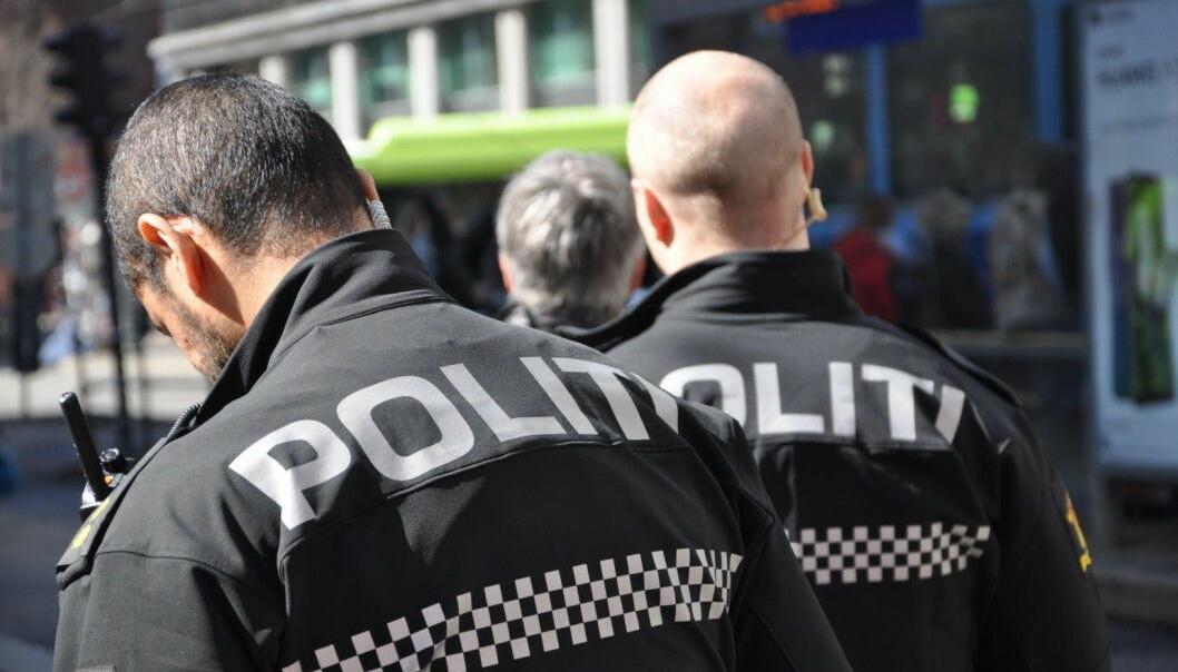 Politiet stanset festen i Gamlebyen på grunn av smittevernshensyn.