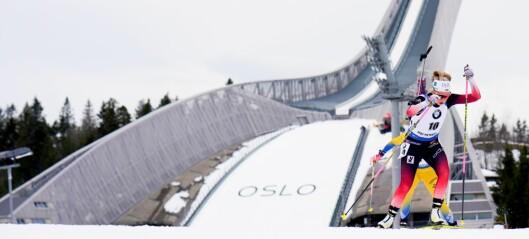 Kollen-publikummet blir snytt for skiskytternes nye øvelse