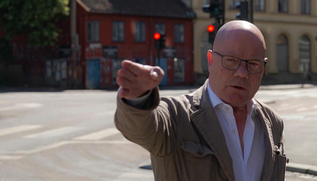 Erik Fjell mener det er meningsløst at trafikken fra Platous gate blir ledet inn på Grønland.