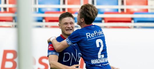 Benjamin Stokke hamret ballen i krysset da Vålerenga slo Haugesund