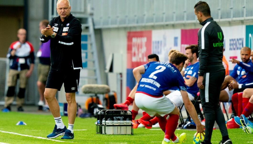 VIF-trener Dag-Eilev Fagermo står med fire kamper på rad uten tap.