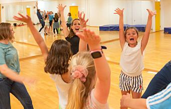 - Jeg elsker å danse, sier åtte år gamle Tamara fra Grünerløkka