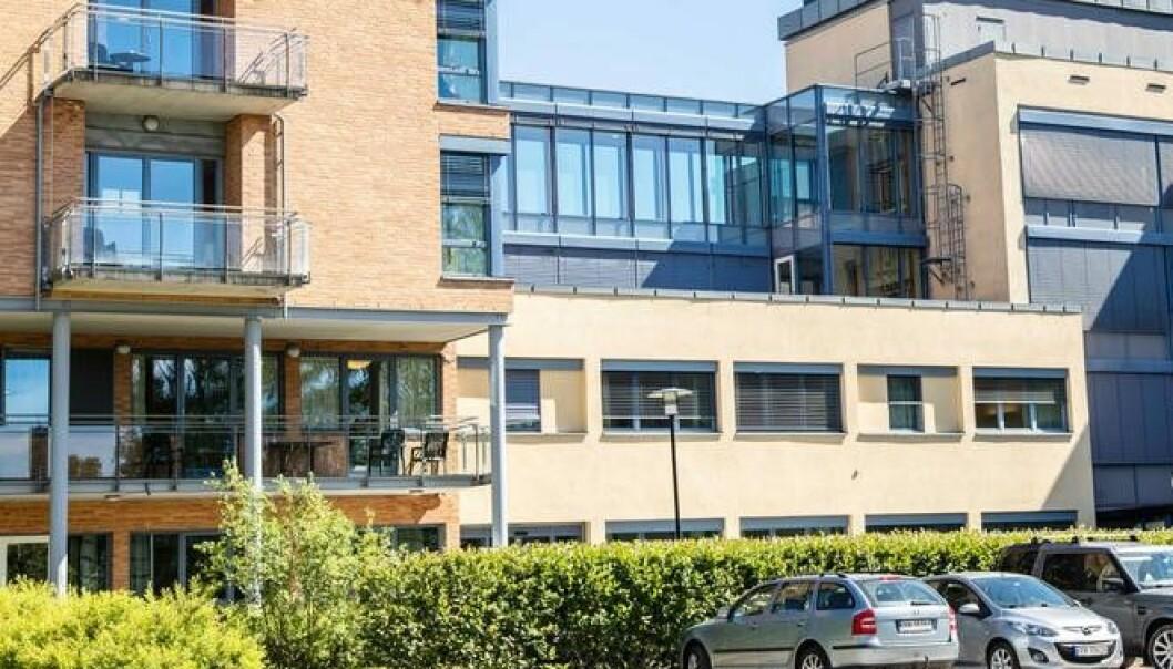 Solvang helsehus i Regnbueveien på Teisen er behandlingsenhet for koronasyke pasienter fra Oslos sykehjem.