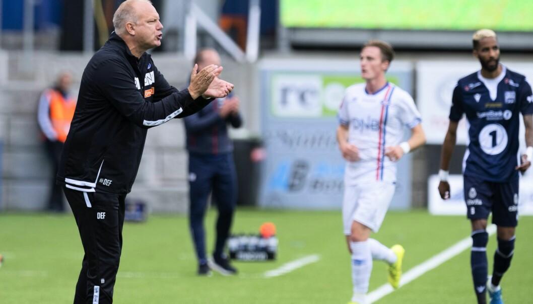 — Vi er høyt på tabellen, men vi scorer for lite mål, sier Dag-Eilev Fagermo.