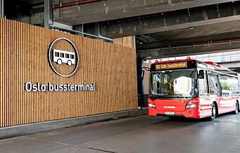 Stopp for planer om bussterminal over Oslo S