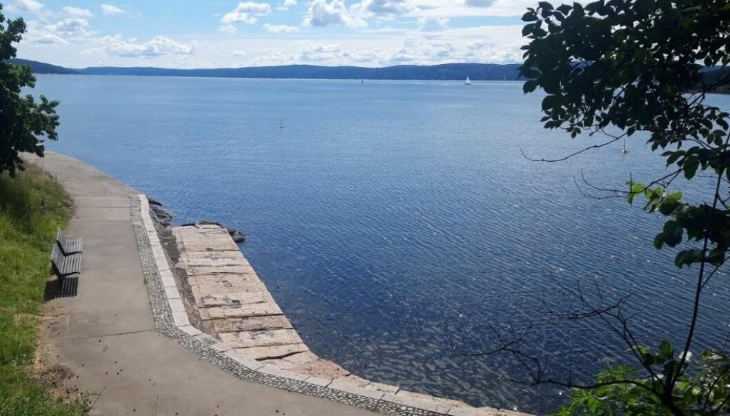 På under en uke skal arbeidet ved Nordstrand bad være ferdigstilt, lover bymiløetaten i Oslo kommune.