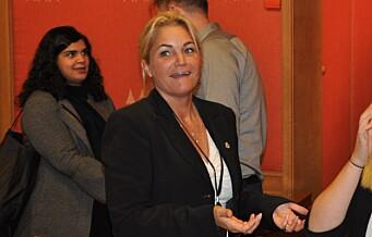 FNB og Cecilie Lyngby holder demonstrasjon mot rushtidsstenging av Bygdøy allé