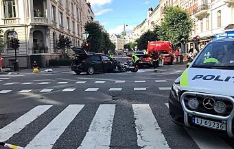 To hardt skadd etter trafikkulykke i Bygdøy allé