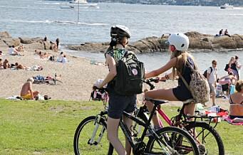 Sykkelrunde på Bygdøy via Bygdøy sjøbad, Paradisbukta og Huk
