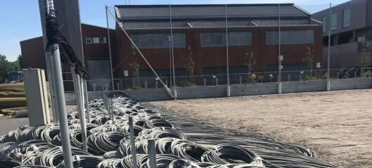 Verdens første kombinerte landhockey- og kunstisbane skulle komme på Voldsløkka. Nå ligger den brakk