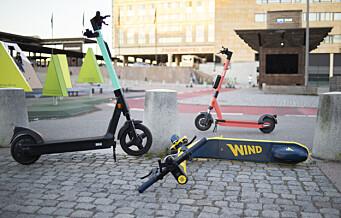 Oslo får 2.000 nye elsparkesykler