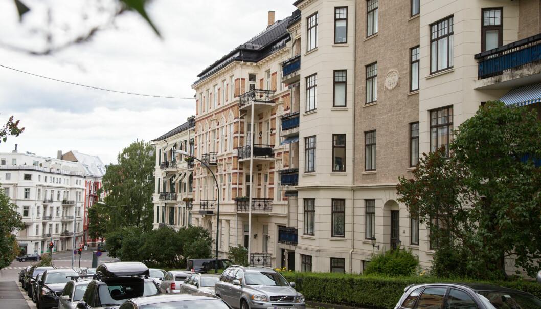 Salget av kostbare luksusboliger går så det suser for tiden. På bildet ser vi Thomas Heftyes på Frogner i Oslo, en av Oslo dyreste adresser.