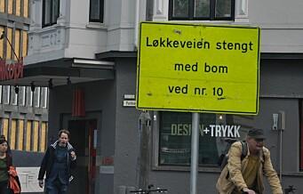 Flertall av nabouttalelser krever at Løkkeveien gjenåpnes for biler