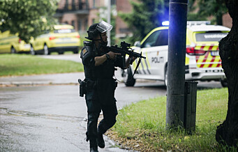 Mann i 40-årene skutt i leilighet i Christian Michelsen gate. Utløste bevæpnet politiaksjon