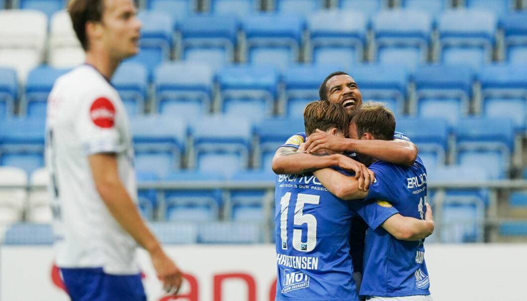 Molde kom raskt tilbake på seierssporet etter tapet mot Bodø/Glimt forrige runde.