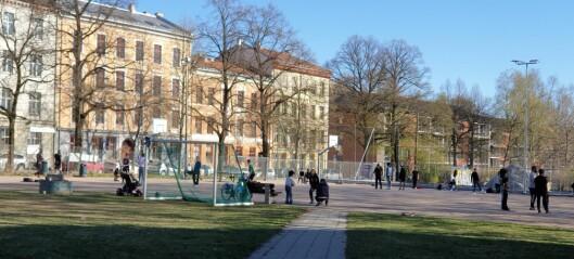 Vektere skal sørge for ro og trygghet rundt Grünerhagen ballplass
