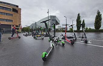 Legevakta i Oslo ber om stans av bruk av elsparkesykkel på natta