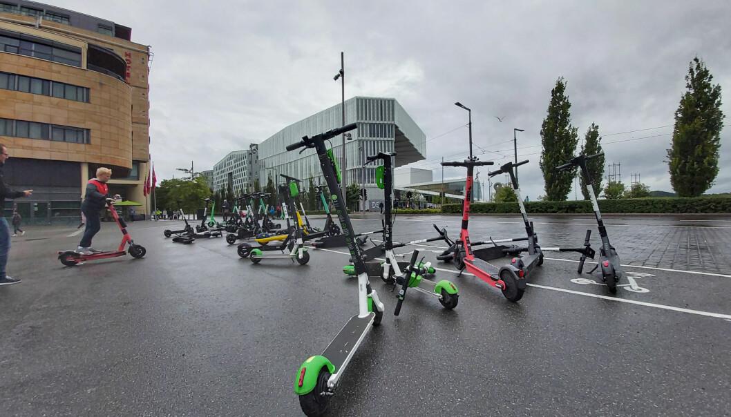 El-sparkesykler er blitt et velkjent syn i Oslos gater, det merker Oslo skadelegevakt godt.